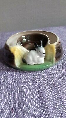 Eastgate Kitsch  Fauna And Rabbit  Design Bloom Trough - Pre-owned - Acceptable • 1.25£