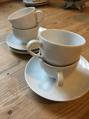 2 Royal Heritage Porcelain Coffee Cups & Saucers • 2.50£