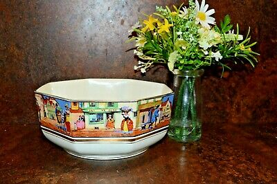 Crown Ducal Bowl Cries Of London England • 10£