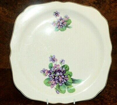 Lord Nelson Pottery Plate Floral Decoration 25 X 25 Cm • 6.50£
