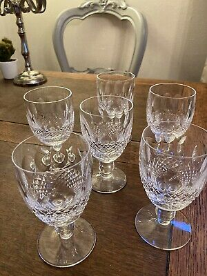 6 Waterford Colleen Wine/sherry Glasses  • 20£