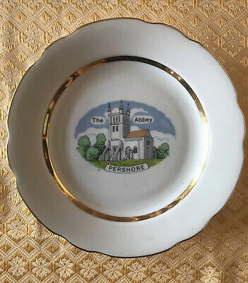 Pershore Abbey Plate - Pershore, Worcestershire - Unmarked & Undated • 1.99£