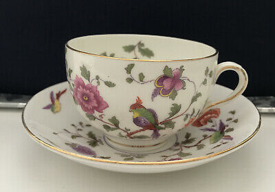 Crown Staffordshire Bird Of Paradise Cup And Saucer  • 4.99£