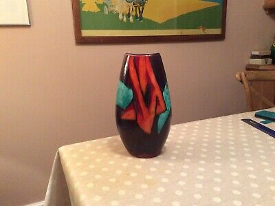 Poole Pottery Small Manhattan Vase Excellent Condition • 25£