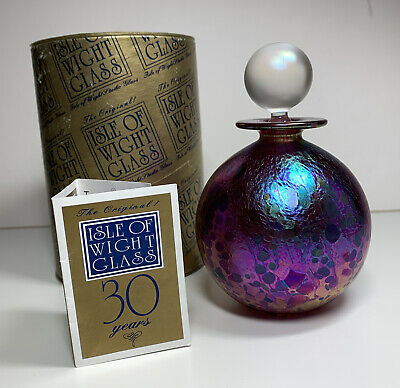 Isle Of Wight 30th Aniversary Perfume Bottle • 65£