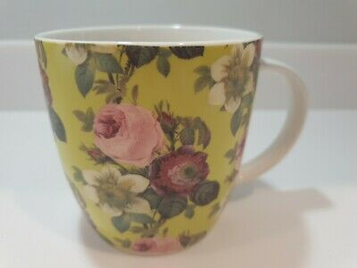 Queens By Churchill Royal Horticultural Society Mug Clematide Excellent Cond. • 11£