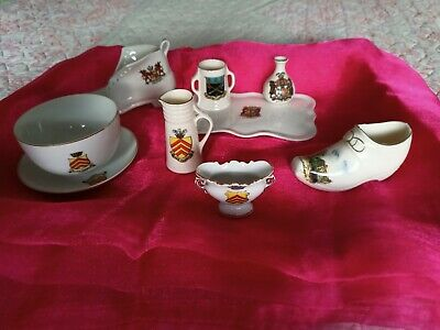 5 Pieces Of Cardiff City Crested China • 10£