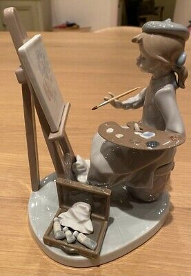 Lladro Young Artist With Easel Still Life (5363) • 45£