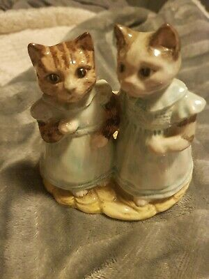 Beatrix Potter Royal Albert Mittens And Moppet  • 9.99£
