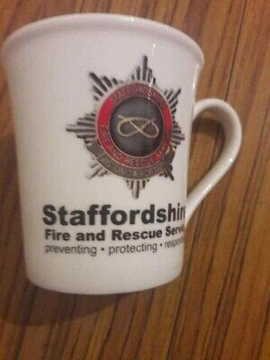 Cup.Mug.Staffordshire Fire And Rescue Service.A. • 15£