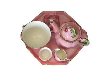 Stunning And Rare Royal Winton Petunia Pattern Breakfast Set For One C.1940-50 • 199£