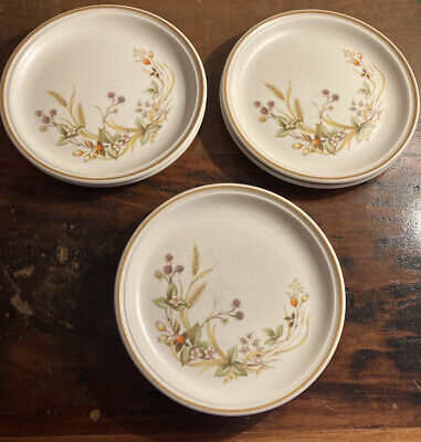 SIX MARKS & SPENCER HARVEST 4 SMALL 6.5inch Plates • 6£