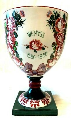 Wemyss  Commemorative 1880-1980  Boxed Goblet Limited Edition 438/500     7.5  • 225£