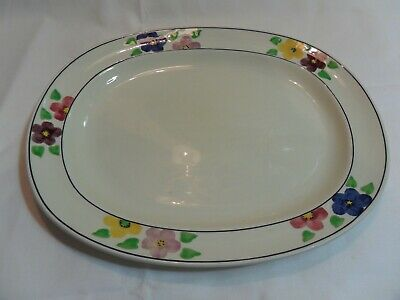 Vintage Ridgways Bedford Ware Platter, Hand Painted, No 835 • 9.49£