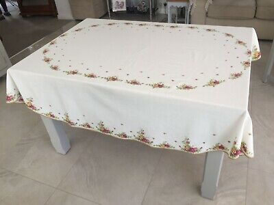 Royal Albert Old Country Roses Table Cloth • 14£