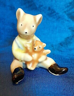 Lovely Beswick Teddy Bear Small Collectable Cute Ornament Figure. • 3£