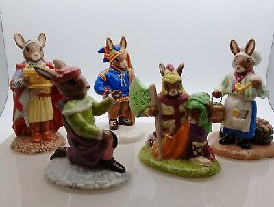 BUNNYKINS PORCELAIN COLLECTORS FIGURINES By Royal Doulton • 30£