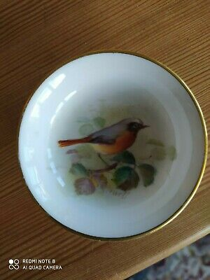 Worcester Porcelain Pin Dish William Powell • 3£
