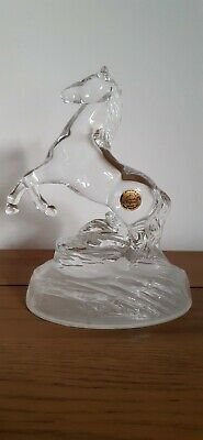 Cristal D'arques Glass Horse - Vintage - Genuine Lead Crystal • 17.95£