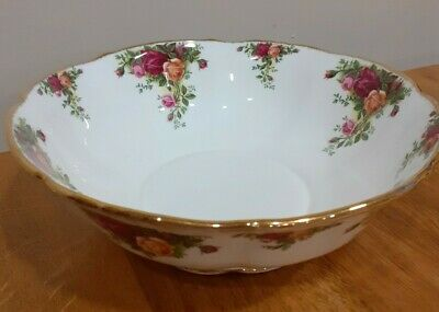 Royal Albert Old Country Roses  Large Fruit 10   Bowl Seconds • 23£