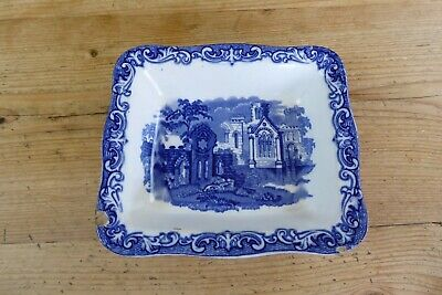 Vintage George Jones Abbey Pattern 1790 Shredded Wheat Cereal Dish 1930's A/f • 3£