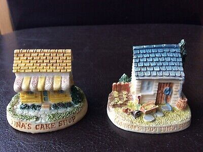 2 Lyons Tetley Ltd Cottage Ornaments. Used In Excellent Condition. • 3.50£