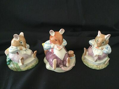 Royal Doulton Brambly Hedge Figures  MR TOADFLAX  3 Versions • 30£
