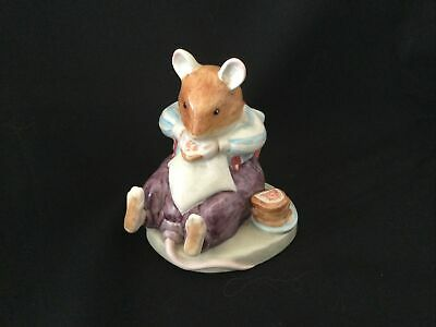 Royal Doulton Brambly Hedge Figure MR TOADFLAX RUDE Boxed • 15£