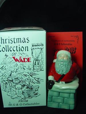 WADE SANTA CLAUS FATHER CHRISTMAS IN CHIMNEY 5  TALL 1997 Ltd Ed 1000 RARE MINT • 19.99£