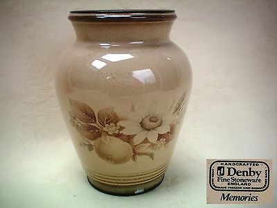 Denby Memories 5.5  Tall Vase Excellent Condition • 6.99£