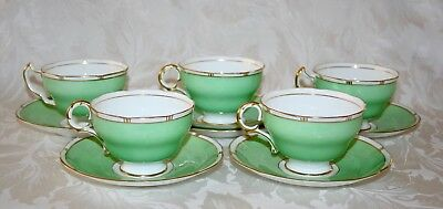 Pretty Vintage Adderley 1940/50's Bone China Cup And Saucer Set • 30.09£