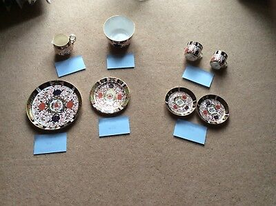 Royal Crown Derby Old Imari Pattern 48 Piece Tea & Coffee Service • 495£