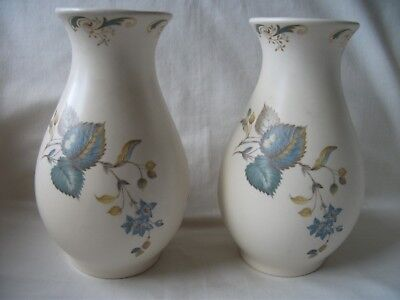 Pair Of Axe Vale Pottery Vases – Ref 1630  • 21£