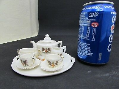 Gemma Porcelain Crested Ware Tea Set, City Of London Crests • 12.95£