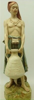 Large Royal Dux Figure  The Water Carrier   No. 1486  By Alois Hampel    (776) • 269£