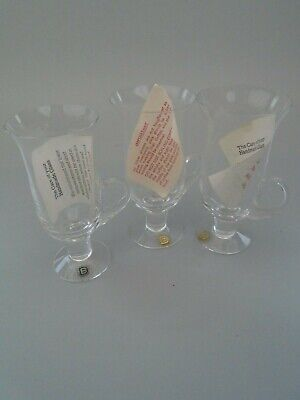 Dartington  Crystal Hand Blown  Late Coffee  Glasses Unused • 12.99£