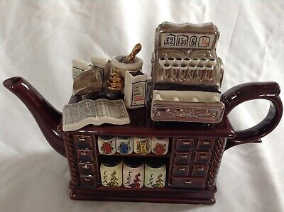 Cardew Collectable Novelty Large Teapot Chinese Tea Counter Good Condition • 32£
