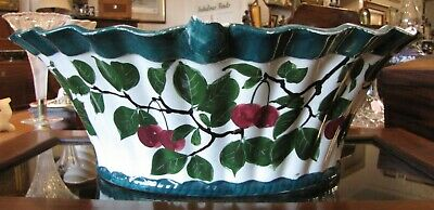 Antique Wemyss Large Cherry Basket • 200£