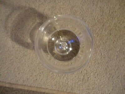 Beautiful Piece Of Dartington Heavy Crystal Glass Bowl With Label Unwanted Gift • 11.99£