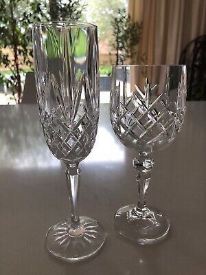 Crystal Champagne Flutes (28 For Sale) • 35£