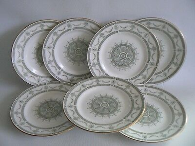 CROWN Staffordshire Apollo China Side Plates X 7 Size 6.1/4 Inches • 25£