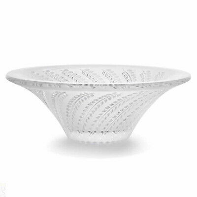 LALIQUE GLYCINES SMALL CLEAR BOWL.  Ref: 10490200 • 145£