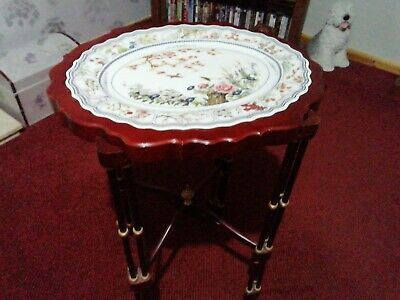 TABLE Vintage Collectable . China Top Franklin Mint Orient Plate.  • 60£