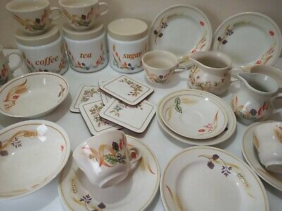 Vintage HARVEST Design Dinner Service Spares/Replacements/Extra Churchill/M&S • 3.95£