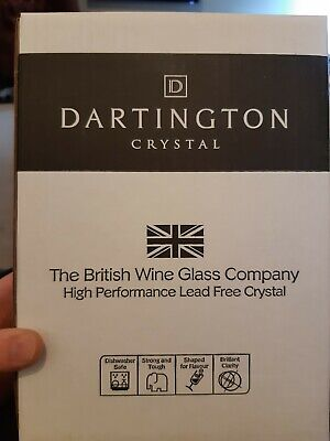 Dartington Crystal Pair Of Vineyard Champagne Flutes - New In Box   • 10£