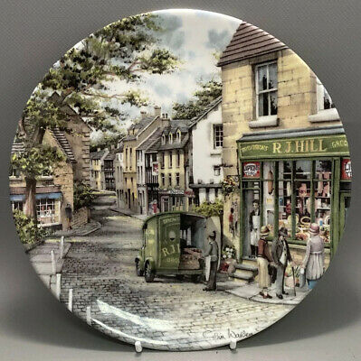 The General Store Collectors Plate  Window Shopping  Series Boxed + Certificate • 4£