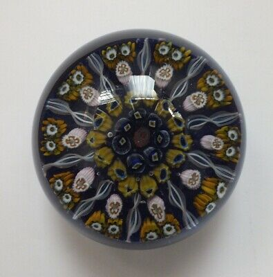 Beautiful Large 10 Spoke Strathearn Millefiori Paperweight • 45£