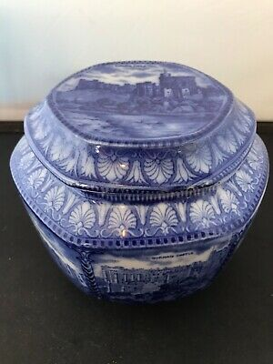 Maling Blue And White Ringtons Tea Caddy • 28£