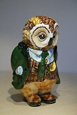 Cinque Ports Pottery -- Rye - Gentleman Owl • 95£