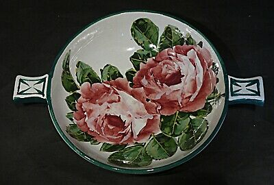 Wemyss Cabbage Rose Quaich - Dated 1906 • 335£